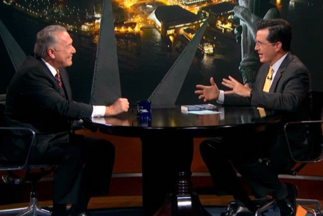 Art cop Robert Wittman spoke with Stephen Colbert in a 2011 appearance, when he was promoting his book, 'Priceless.'