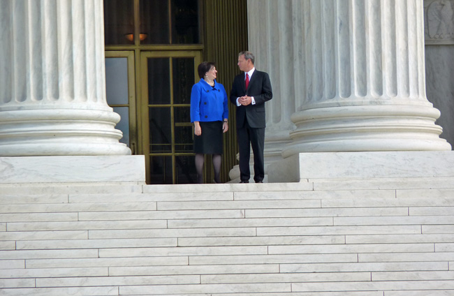 chief justice john roberts elena kagan us supreme court campaign finance