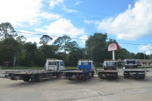 Roger's Towing in Bunnell. Click on the image for larger view. (© FlaglerLive)