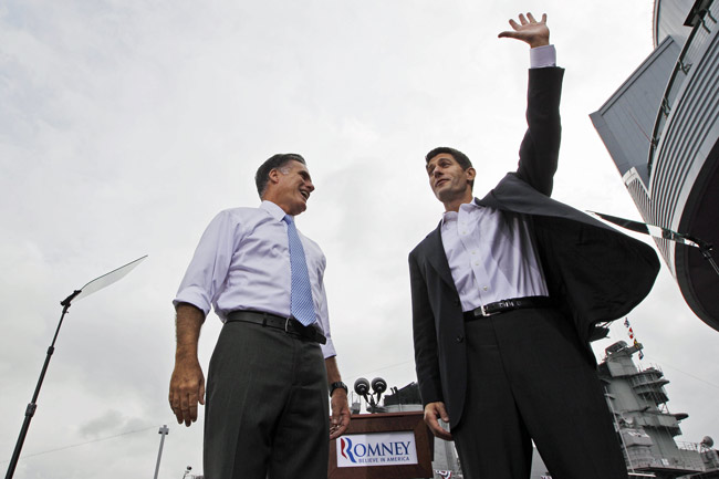 romney and ryan will never let fact-checkers get in the way of a good lie.