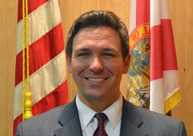 Ron DeSantis doesn't take the nation's business seriously. (© FlaglerLive)