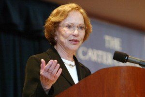 Rosalyn Carter. (Carter Center)
