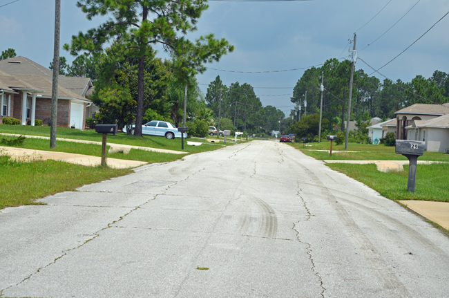 Roxboro Drive. (© FlaglerLive)