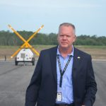 Flagler County Airport Director Roy Sieger came under unexpected criticism from top members of his own advisory board at a workshop on noise issues. (© FlaglerLive)