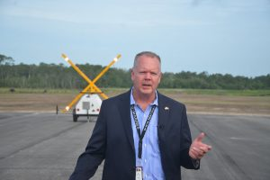 Roy Sieger, Flagler County's airport director. (© FlaglerLive)
