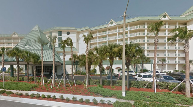 The Royal Floridian Resort on A1A in Ormond Beach.