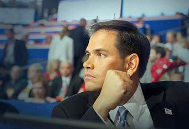 Sen. Marco Rubio used Cold War-era rhetoric in his criticism of Obama's new Cuba policy. (Facebook)