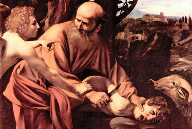 Caravaggio's 'Sacrifice of Isaac' (1603)