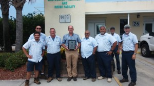 wastewater plant award palm coast