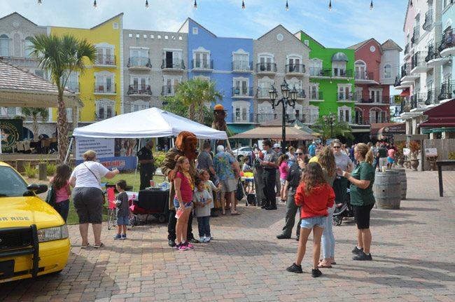 The Flagler County Sheriff's Office's first annual Safety Expo unfolded at European Village in palm Coast Saturday. (© FlaglerLive)