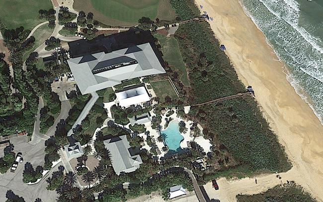 The old lodge at Hammock Beach Resort, which Salamander Hotels wants to replace with a 198-room hotel. (Google)