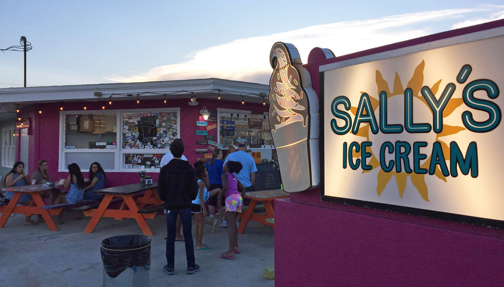 sally's ice cream
