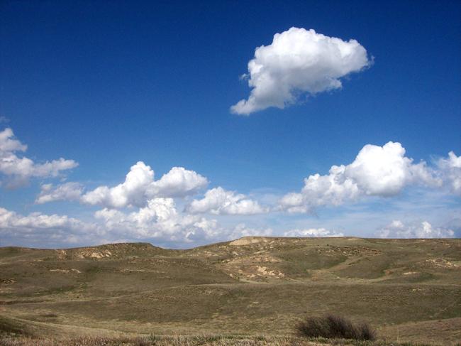 The Nebraska sand hills, a secret corner of American beauty.