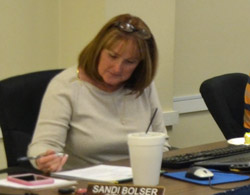 City Clerk Sandra Bolser. (© FlaglerLive)