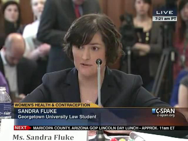 sandra fluke The Democrats' renaissance woman.