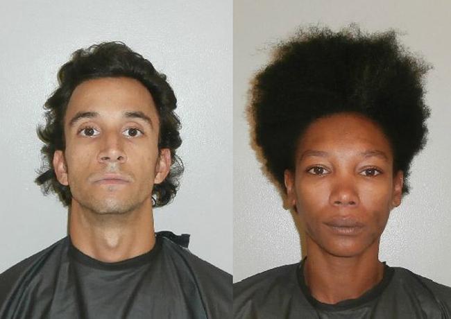 Bradley Sanguinetti, left, and Tamara Natto.