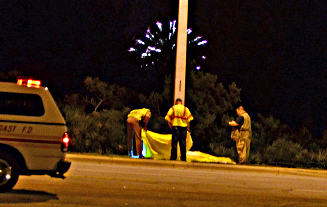 fatality belle terre elementary fireworks