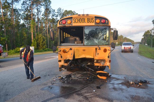 school buses seat belts