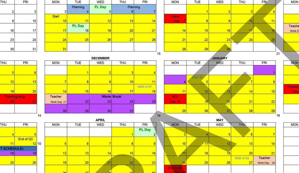 Flagler County School Calendar 2021-2022 Flagler County Schools 2020 21 Calendar