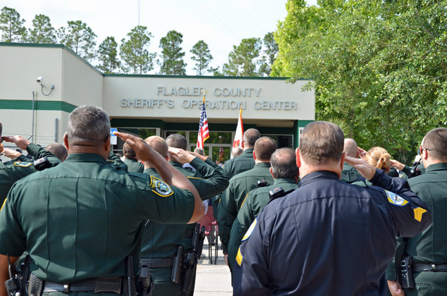 Flagler County's school superintendent and sheriff are proposing hiring a battalion of deputies to guard the district's 11 traditional public schools. (© FlaglerLive)