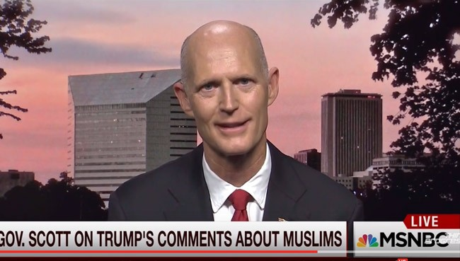 rick scott muslims florida