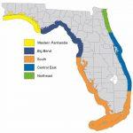 Sea trout zones.