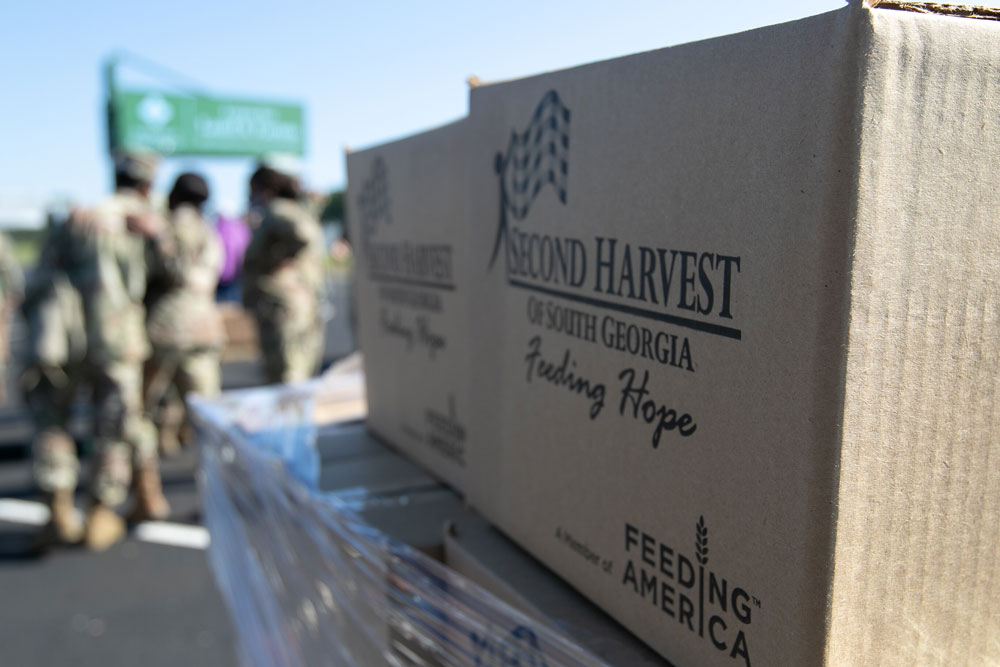 It's going to take a lot more when people are going hungry. (Georgia National Guard)