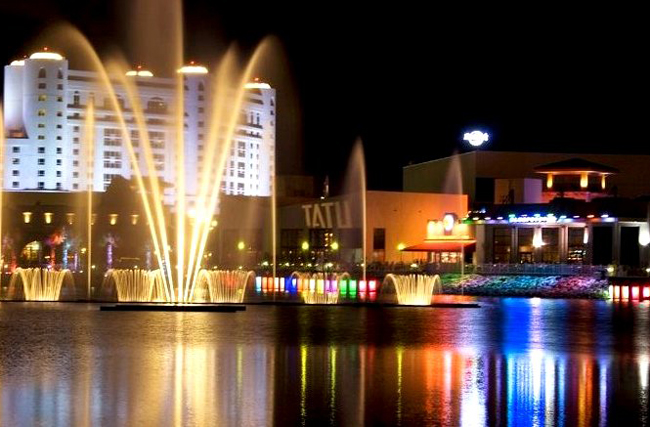 Seminole casinos, like the Hard Rock in Hollywood--well known to Flagler County gamblers--are increasingly profitable. (Michele Sandberg)
