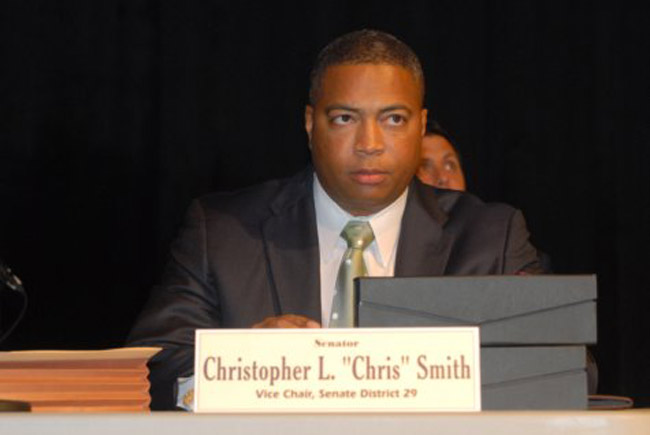 Sen. Chris Smith reprtesents portions of South Florida.