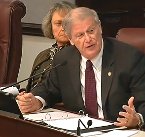 Sen. John Thrasher, who is sponsoring the measure heard in committee Thursday.