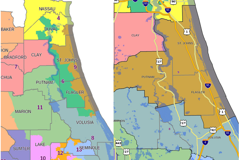 Senate S New Redistricting Map Flagler S District Is Whole Again
