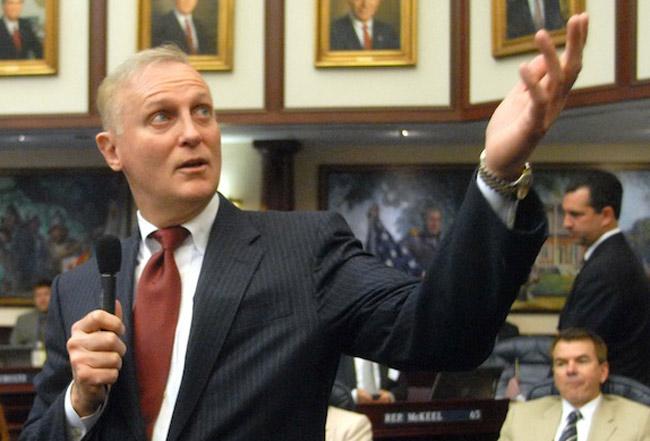 Florida Sen. David Simmons is sponsoring the  anti-sick time bill making it way through the Legislature. (Florida Legislature)