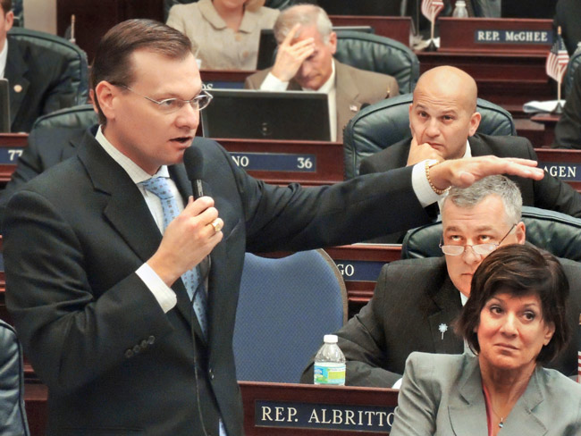House Appropriations Committee Chair Seth McKeel, R-Lakeland. (Mark Foley)