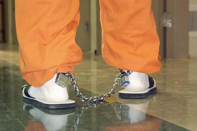 In Florida and most Southern states, shackling juveniles remain routine. (Bedford County)