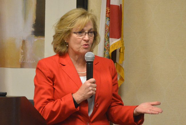 sharon demers flagler county school board