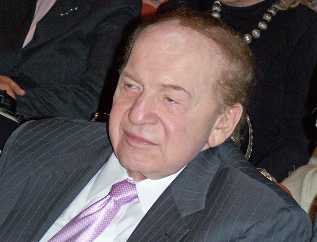 Sheldon Adelson 2012 elections gop donors campaign finance