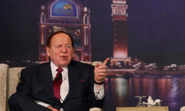 Sheldon Adelson has contributed $5 million of the $5.8 million in the fight against legalization of medical marijuana in Florida. (East Coast Gambler)