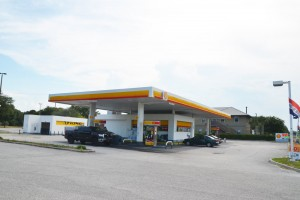 shell gas station confrontation