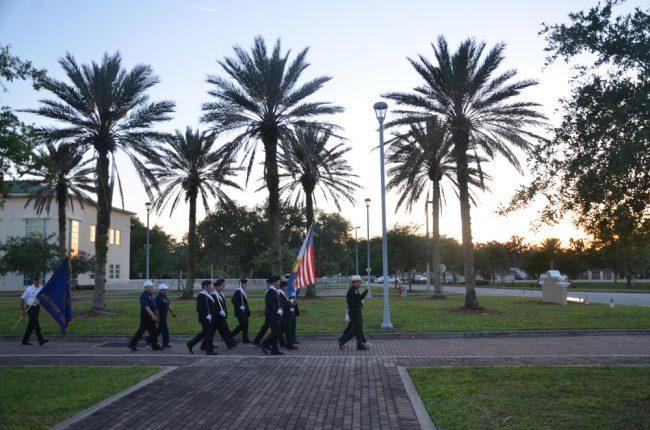 sheriff's procession