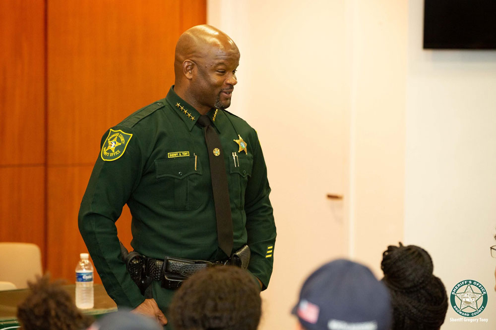 Appointed Broward County Sheriff Gregory Tony doesn't have to worry about the reinstatement of Scott Israel. (Facebook)