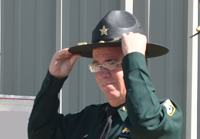 Sheriff Jim Manfre has admitted to an ethics violation in the latest of a series of setbacks. (© FlaglerLive)