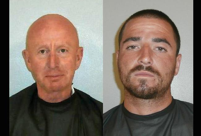 David Shipman of Palm Coast, left, and Marty Hogan of Deltona.