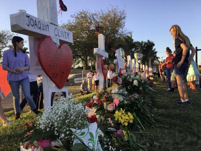 broward school massacre shrine