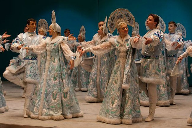 The National Dance Company of Siberia performs at the Flagler Auditorium Sunday at 3 p.m.