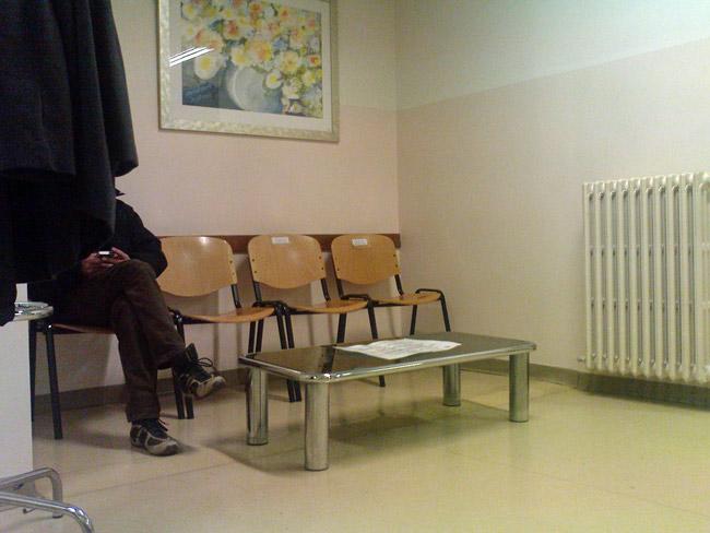 emergency room waiting