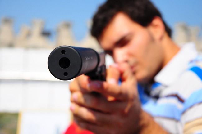 The silencer staring gun-control legislation in Florida. (Militaru Cristian)