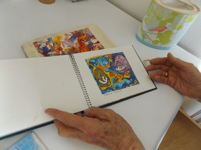diana gilson sketchbooks