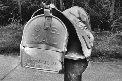 smashed mailboxes in palm coast