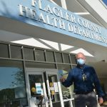 Flagler Health Department Chief Bob Snyder has been an advocate of universal masks and urged local governments to adopt mask mandates. (© FlaglerLive)