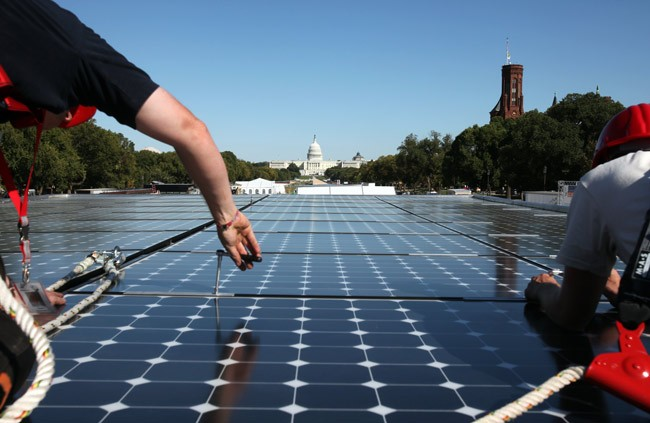 But is Washington paying attention? (Dept of Energy Solar Decathlon)